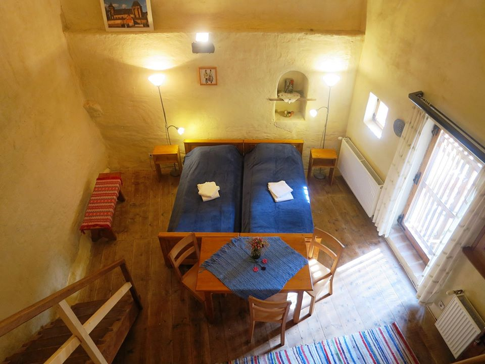 Read more about the article Unique experiences in a magic place to stay – lovely apartments in a XIV-th century fortified church