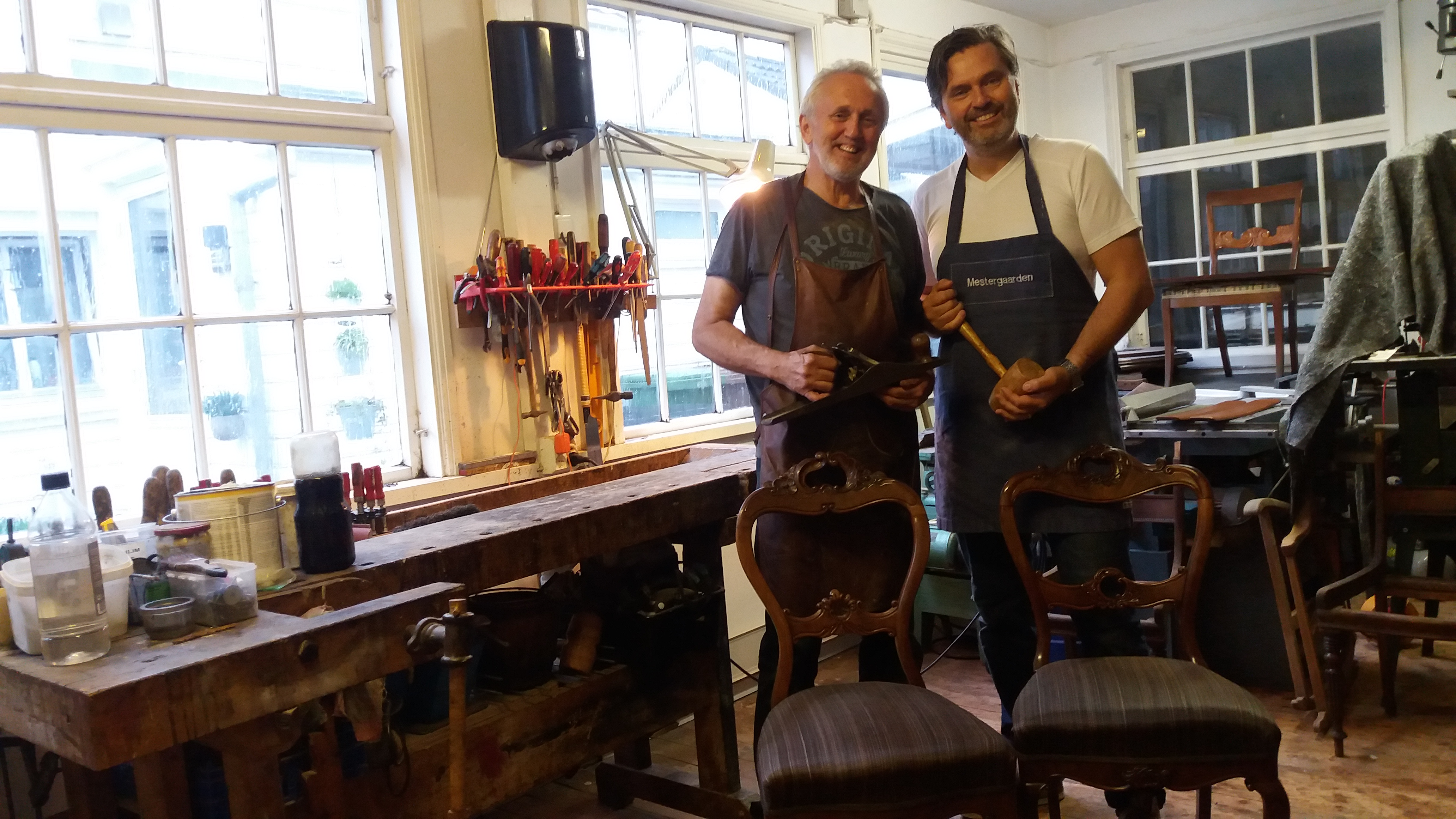 Read more about the article The story of Mestergaarden – the place where old furniture's heart starts beating again