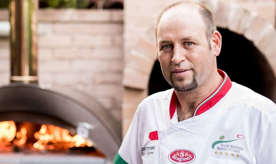 Vasile Vezeteu, chef and maestro pizzaioli, and a very special project – pizza making classes for young deaf people