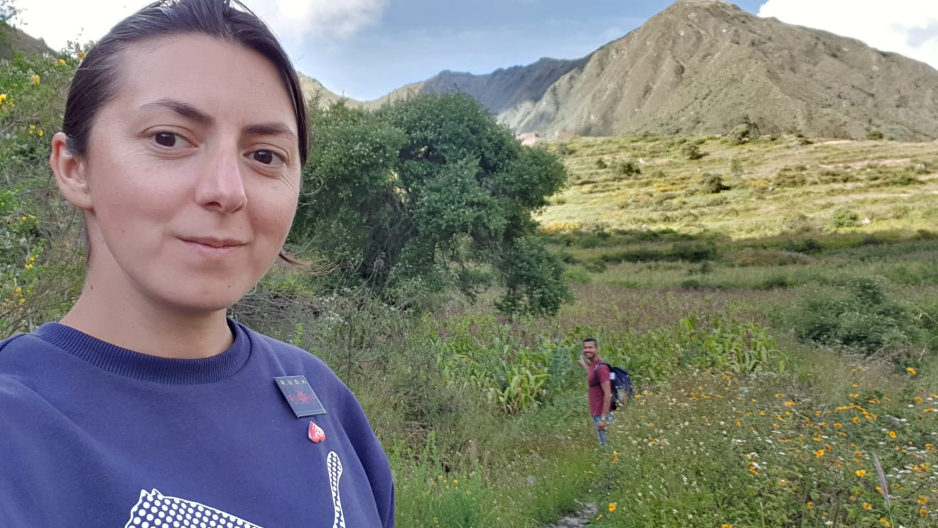 "#coronastories – Iulia and her husband, quarantined on vacation in a small village in Peru – ""I think we should all realize which are the things that really matter"""